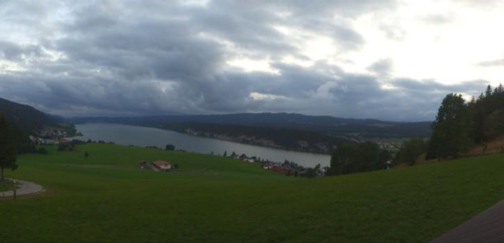Webcam Lac de Joux (Chalet de l'Aouille alt. 1108m)